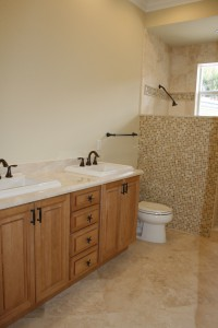 Leading Edge Homes, Inc. bathroom addition - in progress.