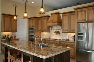 Leading Edge Homes-Inc. Kitchen Remodel Lighting