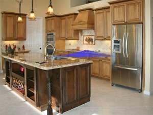 Leading Edge Homes Inc. - Kitchen with Work Triangle
