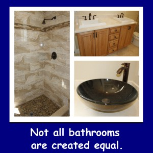Leading Edge Homes - Not all Bathrooms are Created Equal