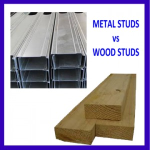 Home Improvement - Metal Studs vs Wood Studs