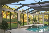 Hurricane Resistant Screen Enclosure - Leading Edge Homes, Inc. - Home Remodeler